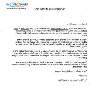 hoe kan ik een brief schrijven Hoe kan ik een brief met de vraag om vrijwilligerswerk te