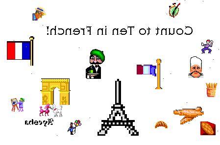 hoe te tellen tot tien in het frans – wkonl